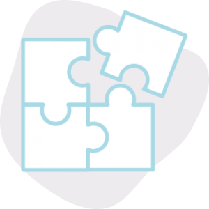 Completing a Puzzle icon