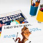 Enlgish resources Dragon theme