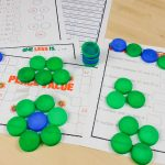 Milk Bottle Maths Counters